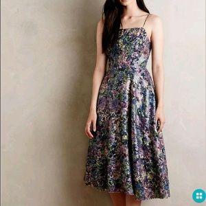 Tracy Reese secret garden sequin dress size 8